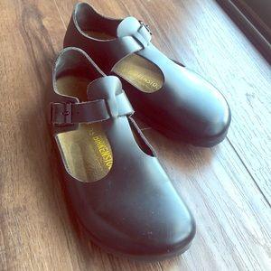 BIRKENSTOCK Black Mary Janes Women's Size 36/6 🌸